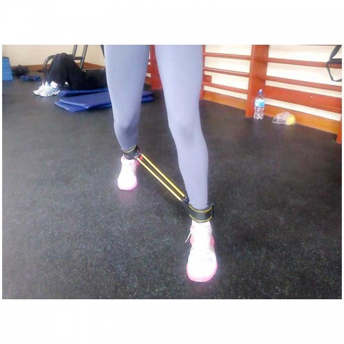 Liga de tobillo (simple y doble) Extensión de rodilla, doble RESISTENCIA MAYOR