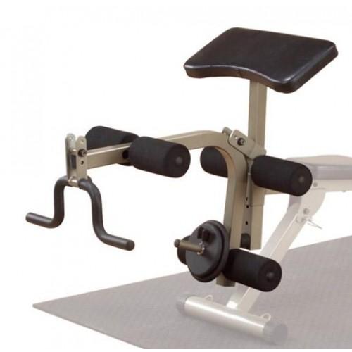 Acoplamiento - extension y flexion de piernas - Flexion bicep